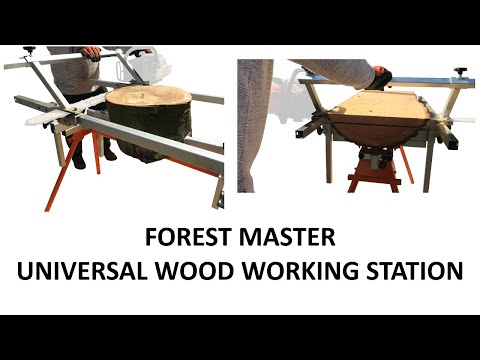 Forest Master - Universal Wood Working Station