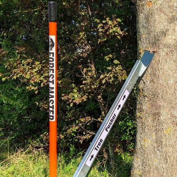 tree pusher, log lifter, felling tool