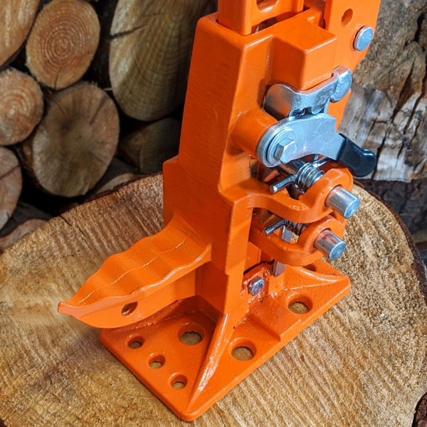 tree pusher, log lifter, felling tool, heavy base