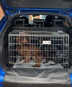 Audi Q2 car dog cage, pet travel crate