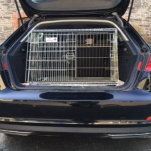 audi a3, audi e-tron, dog cage, pet carrier