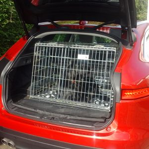 jaguar f pace, pet travel cage, car dog crate