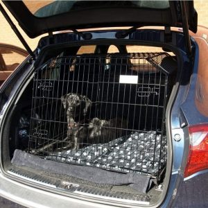 porsche cayenne, dog cage, pet travel crate