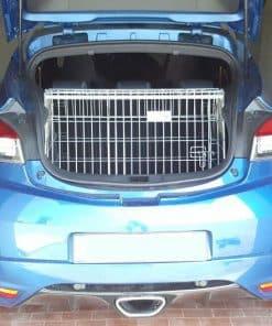 renault megane mk3 coupe, dog cage, pet travel crate