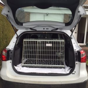 suzuki sx4, pet cage, dog travel crate