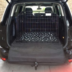 citroen c4 grand picasso, car dog cage, pet travel crate