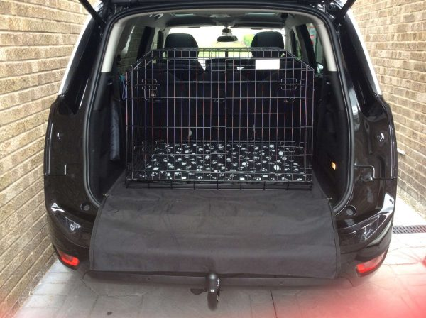 citroen c4 grand picasso, car dog cage, pet travel crate