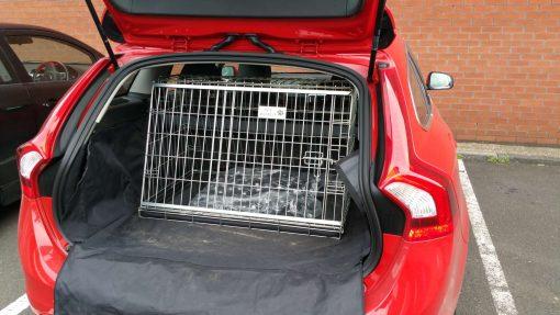 Volvo V60, Car Dog Cage, Pet Travel Crate