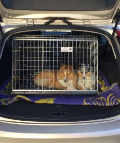 Volvo V60, Car Dog Cage, Pet Travel Crate