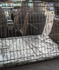 tesla model x, dog crate, car dog cage,