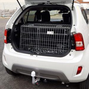 suzuki ignis car dog cage