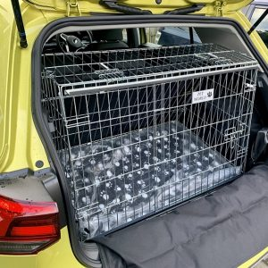 volkswagen golf pet cage, E TSI dog travel cage