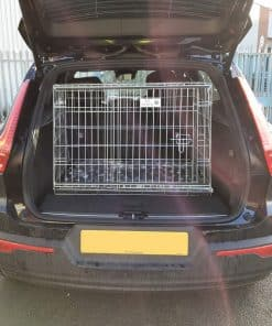 dog cage, travel crate, pet cage volvo xc40