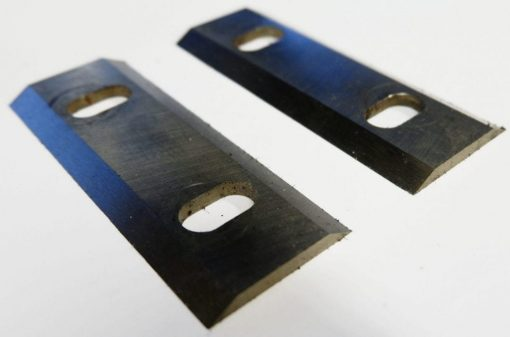 replacement reversible wood chipper blades