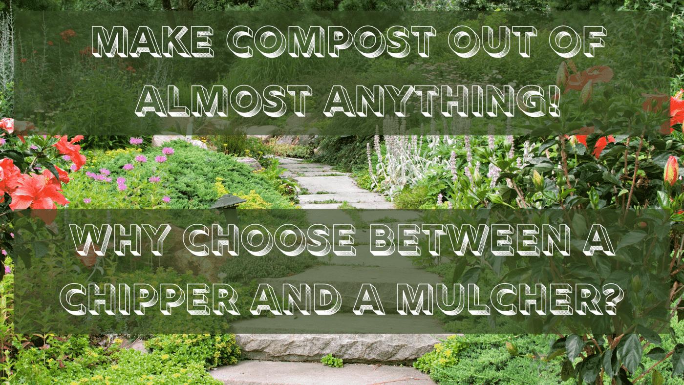 compost, mulch, mulching, chip, shred, garden, arrows-uk