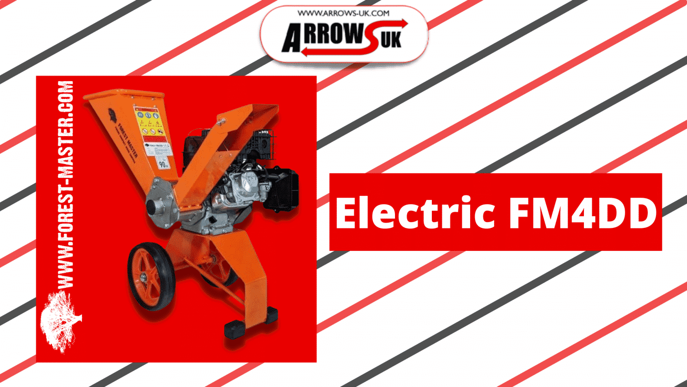 Electric Wood Chipper, Petrol, Forest Master, Forestry, Garden