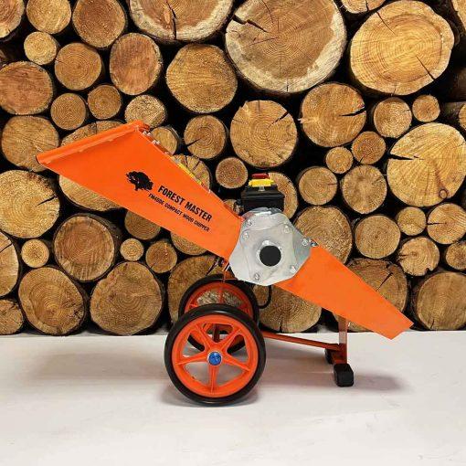 electric mulcher, garden shredder, wood chipper, forest master
